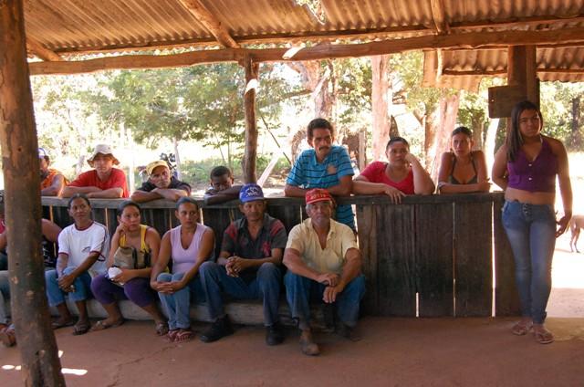 Atividade teve participação de famílias das duas áreas Crédito: Arquivo Repórter Brasil