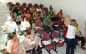 """Encontro sobre o projeto """"Escravo nem Pensar!""""-Foto: Romário Mendes"""