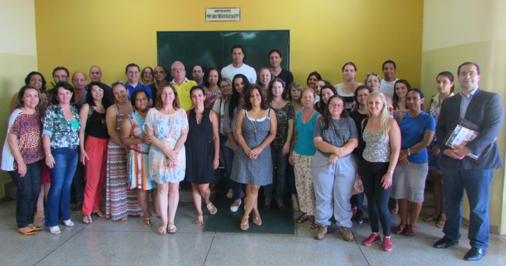 Participaram do encontro 40 educadores.